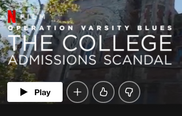"""Movie Review: """"Operation Varsity Blues: College Admissions Scandal"""""""