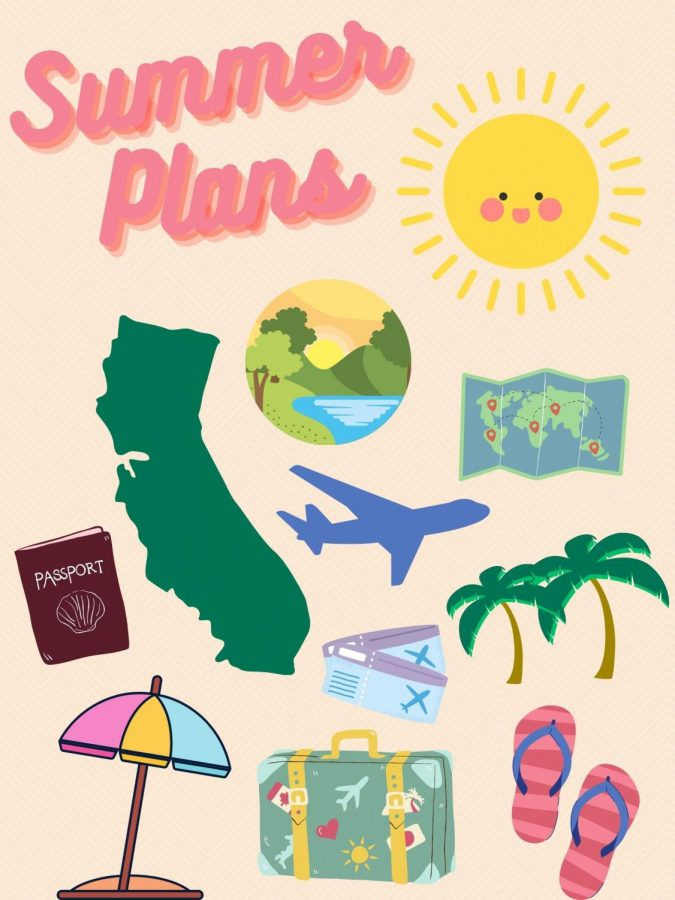 Students' and teachers' plans for summer include staying in, traveling outside of the country, and exploring California.