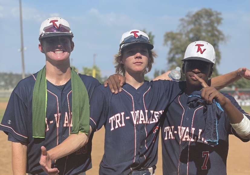Matthew Foley, Riley Borges, and Jonny Shepard pictured here during one of their tournament games.