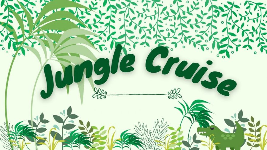 Jungle Cruise released July 30, 2021.