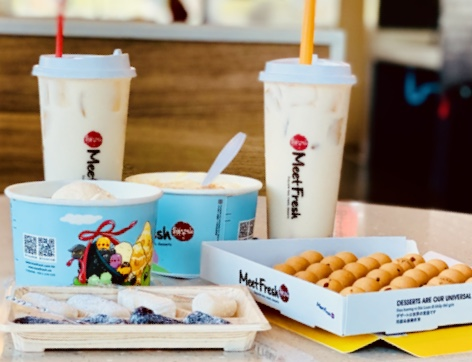 Meet Fresh provides a relaxing atmosphere with plenty of delicious treats.